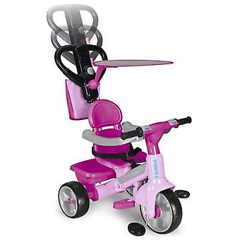 Feber Feber Baby Plus Music Pink Tricycle (Outdoor , On Wheels , Bikes And Tricycles)