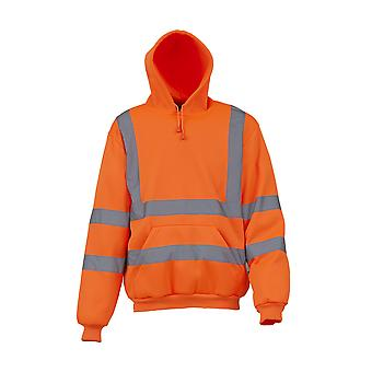 Yoko Mens High Visibility Pull-Over Hoodie