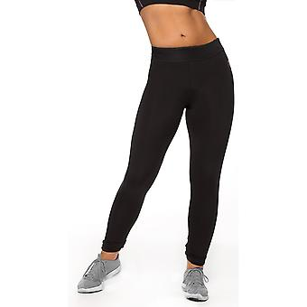 Bad Girl Long Fitness Tights - Black