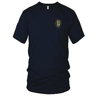 Amerikanske hær - 10 Special Forces Group Crest OD grøn 10 broderet Patch - Herre T-shirt