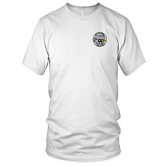 US Navy LPSS-574 Grayback Embroidered Patch - Mens T Shirt