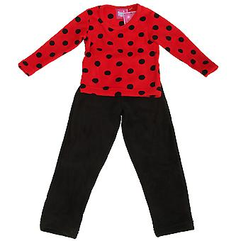 Selena Girl Childrens Girls Supersoft Fleece Pyjama Set