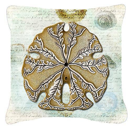 Carolines trésors SB3026PW1818 Dollar de sable toile tissu oreiller décoratif