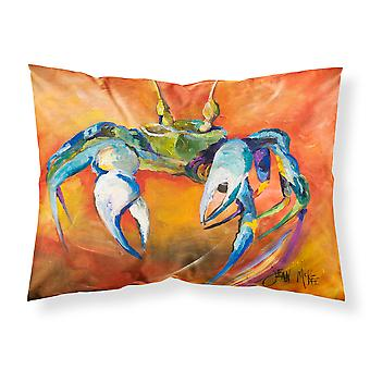 Carolines Treasures  JMK1110PILLOWCASE Blue Crab Fabric Standard Pillowcase