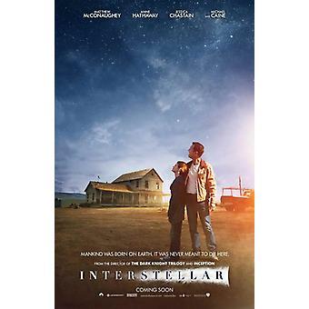 Interstellar Movie Poster (11 x 17)