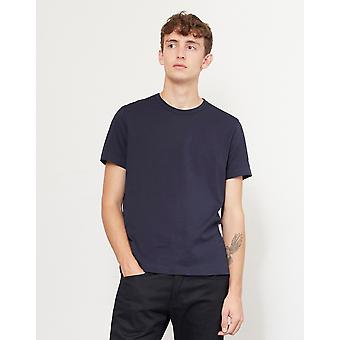 Champion Reverse Weave Crew Neck T-Shirt Navy
