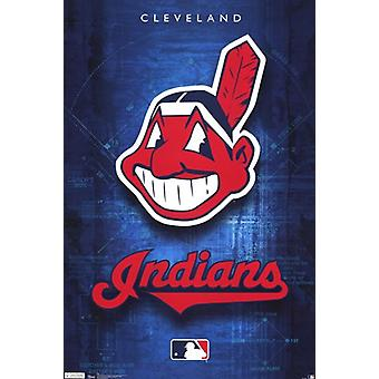 Cleveland Indians - Logo 2011 Poster Print