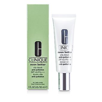 Clinique Even Better City Block Anti-Pollution SPF 40/PA+++ 30ml/1oz