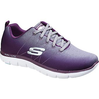 Skechers Womens/Ladies Flex Appeal Bright Side Cooled Trainers Shoes