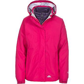 Trespass Womens/Ladies Trailwind Waterproof 3 In 1 Down Jacket Coat