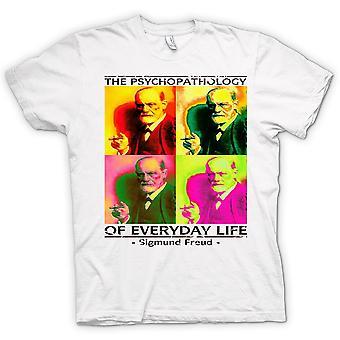 Mens T-shirt - Sigmund Freud Psychopathology - Psychology
