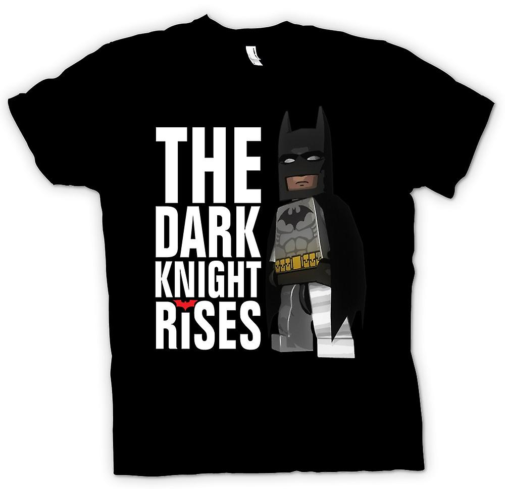 Mens T-shirt - Batman Lego Super Hero - Dark Knight Rises