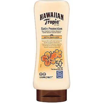 Hawaiian Tropic Satin Cream + Radiance Protection Ultra-180 ml