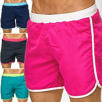 Men's bathing shorts short swimsuit brightly striped beachwear Swimshorts Beach