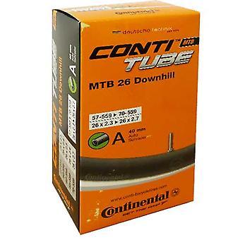 Le tube de bicyclette continental Conti TUBE MTB 26 descente 1,5 mm