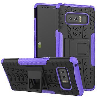 Hybrid tilfelle 2 stykke Koczian utendørs lilla for Samsung Galaxy touch 8 N950 N950F
