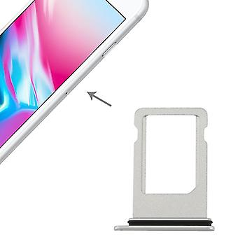 SIM kaart houder adapter SIM-lade voor Apple iPhone 8 4.7 zilver