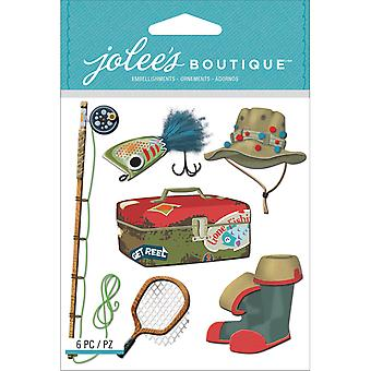 Jolee's Boutique Dimensional Stickers-Fishing