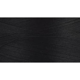 Natural Cotton Thread Solids 3,281yd-Black