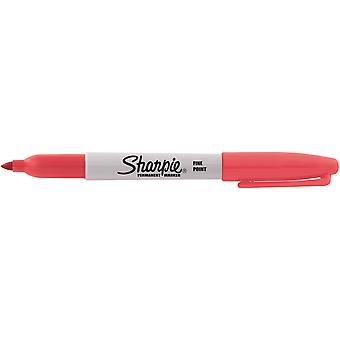 Sharpie Fine Point Permanent Marker Open Stock-Solar Flare Red