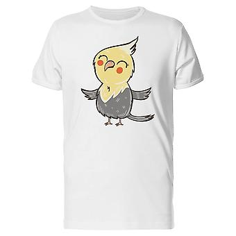 Funny Yellow Parrot  Tee Men's -Image by Shutterstock