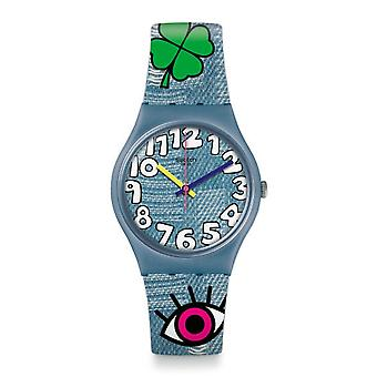 Swatch Gs155 Tacoon Blue Silicone Watch