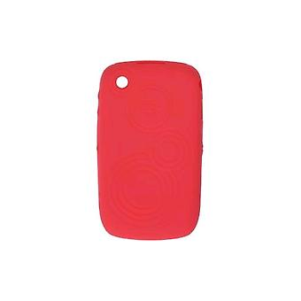 OEM BlackBerry 8520, 8530, 9330 Embossed Skin Case, Butterfly Coral