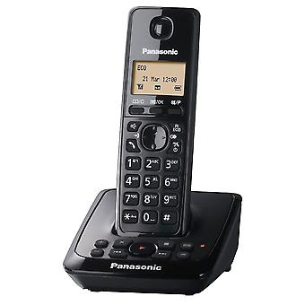 Panasonic KX-TG2721EB Black Single DECT Cordless Phone With Answer Machine