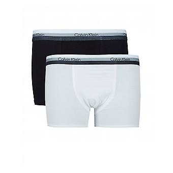 Calvin Klein 2 Pack Kontrast Bund Trunks