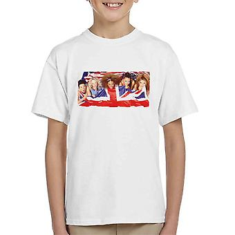 Retro Spice Girls Union Jack Kid's T-Shirt