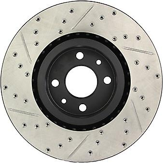 StopTech 127.04004L Sport Drilled/Slotted Brake Rotor (Front Left), 1 Pack
