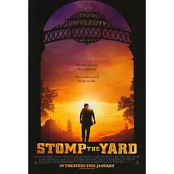 Stomp à l'affiche du film Yard (11 x 17)