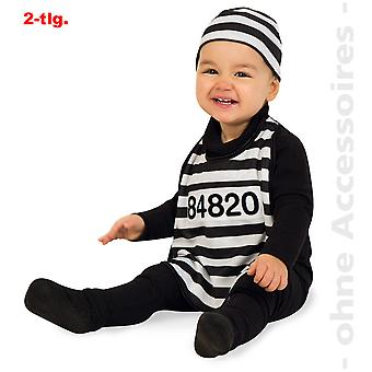 Convict toddler con baby of prisoner convict costume costume