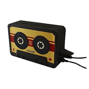 Maxell BT90 Retro Cassette Bluetooth v 4.1 altavoces oro/negro