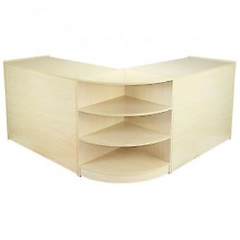 Venus Maple Shop Counter & Retail Display Set