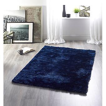 Alfombras reflejo añil rectángulo alfombras llano casi llanos