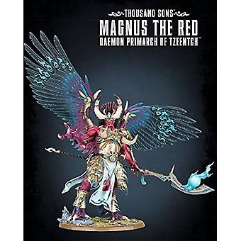 Games Workshop Warhammer 40,000 Thousand Sons Magnus The Red