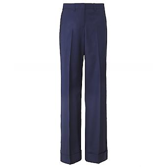 PS by Paul Smith Wool Blend Wide Leg Trousers