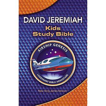NKJV - Airship Genesis Kids Study Bible by David Jeremiah - 9780718086