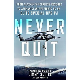Never Quit by Jimmy Settle - Don Rearden - 9781250102997 Book