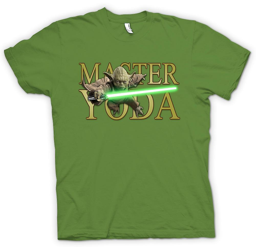 Mens T-shirt - Master Yoda - Jedi - Star Wars - Movie