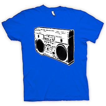 Ghettoblaster Old School - BW T Shirt