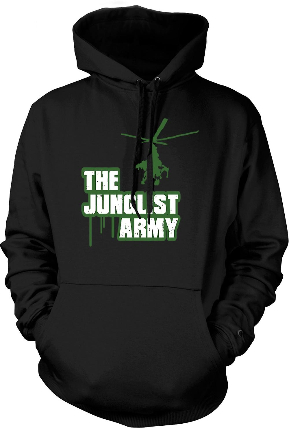 Kids Hoodie - The Junglist Army - Drum n Bass