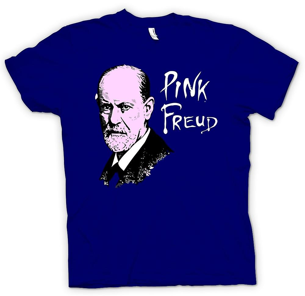 Mens T-shirt - rosa Freud - Quote