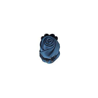 Lovemystyle Teal blauw Silk Rose gesp haar dia