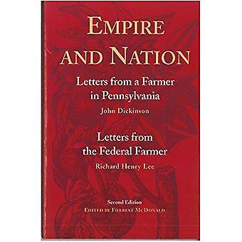 Empire et Nation: lettres à un fermier en Pennsylvanie (John Dickinson), lettres de l'agriculteur fédéral (Lee)