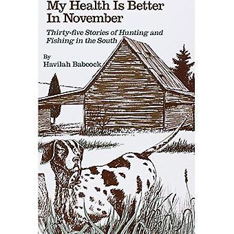 Ma santé est meilleure en novembre