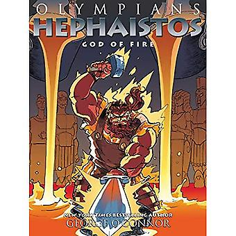Olympians: Hephaistos: Forged in Flames (Olympians)