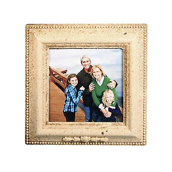 Bevelled Square MDF Wood Photo Frame to Decorate - 14.7cm