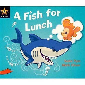 En fisk till Lunch: Phonic möjlighet röd nivå (Rigby stjärna guidad)